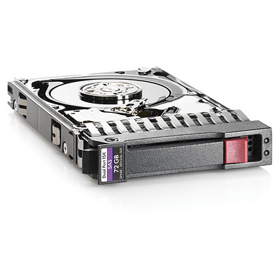 "Hewlett Packard Enterprise Hpe Single Port - Hard Drive - 72 Gb - Hot-swap - 2.5"" Sff - Sas - 15000 Rpm 431935-b21 - xep01"