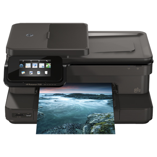 HP photosmart 7520 e-all-in-one printer CZ045A - Refurbished