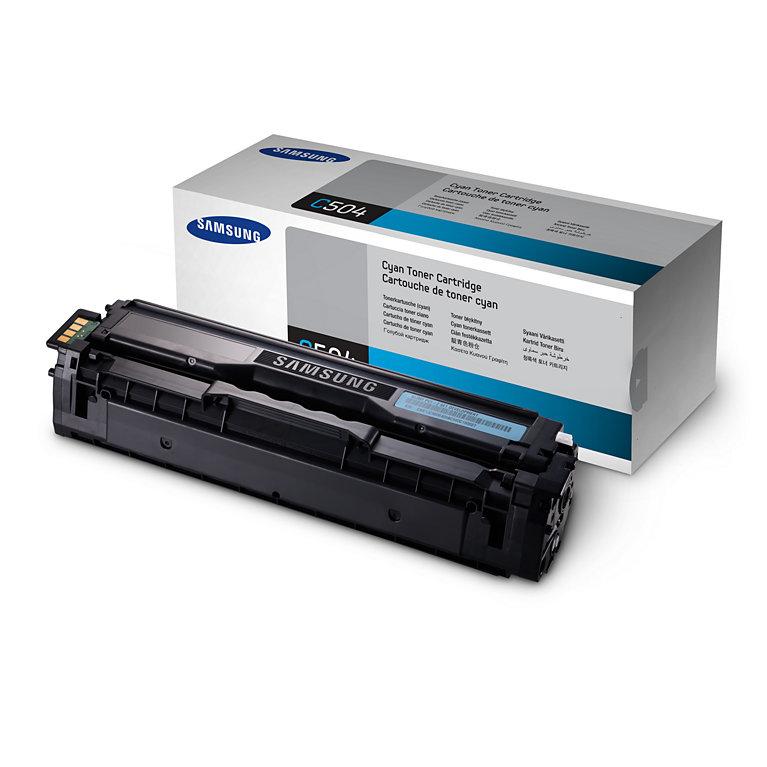 Samsung Toner Cyan Pages 1.000 CLT-C404S/ELS - eet01