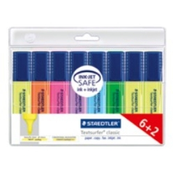 staedtler Staedtlertextsurfer Highlighter With Large Ink Reservoir Pk8 364awp8 - AD01