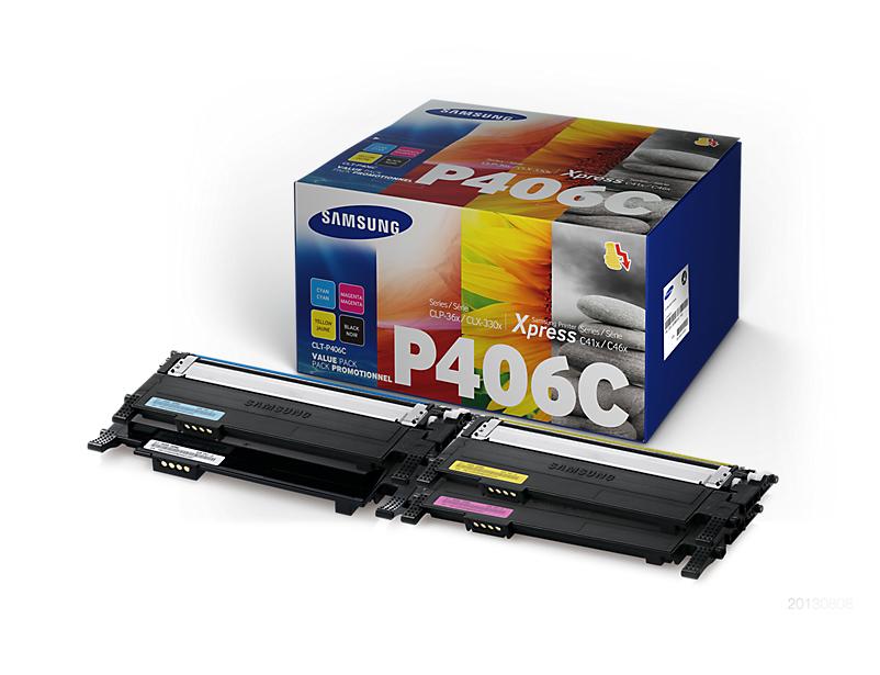 Samsung Toner Rainbow f CLP-360/365 & CLX3300/05 CLT-P406C/ELS - eet01