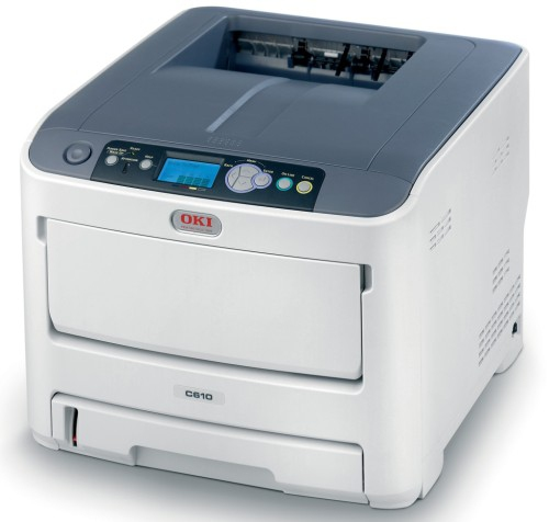 01268902 OKI C610DN Colour LED Printer – Refurbished