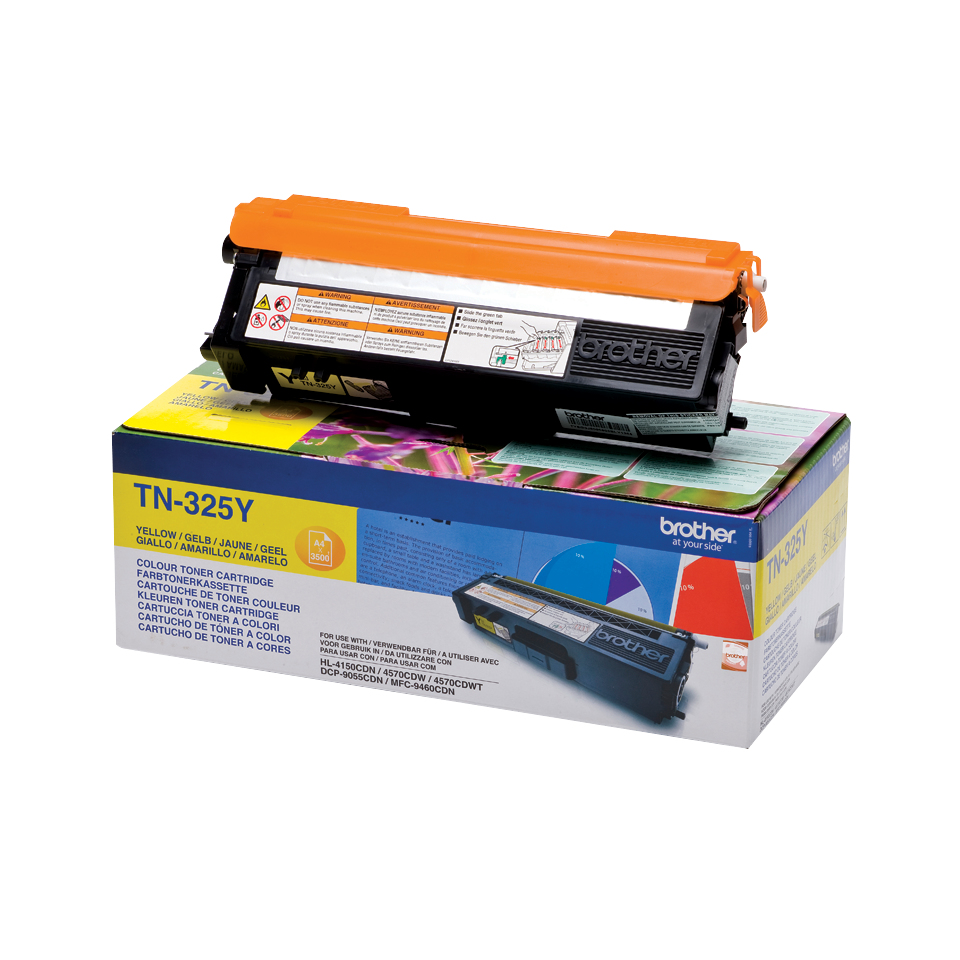 Tn325y brother Hl4140cn Yellow Toner 3.5k - AD01