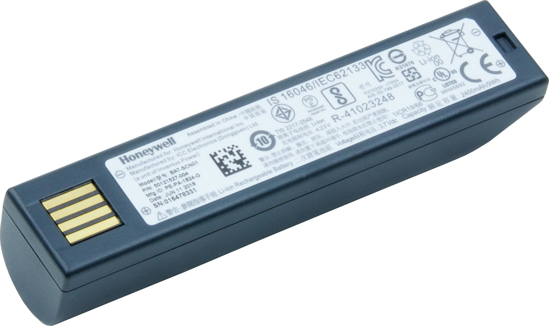 Honeywell - Mobile               Battery Li-ion Battery              Voyager 1202 Xenon 1902 Granit      Bat-scn01a