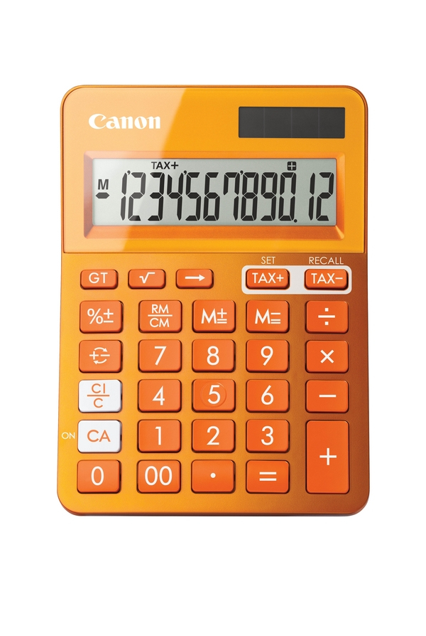 Canon - Calculator               Ls-123k-metallic Orange             Calculator                          9490b004aa