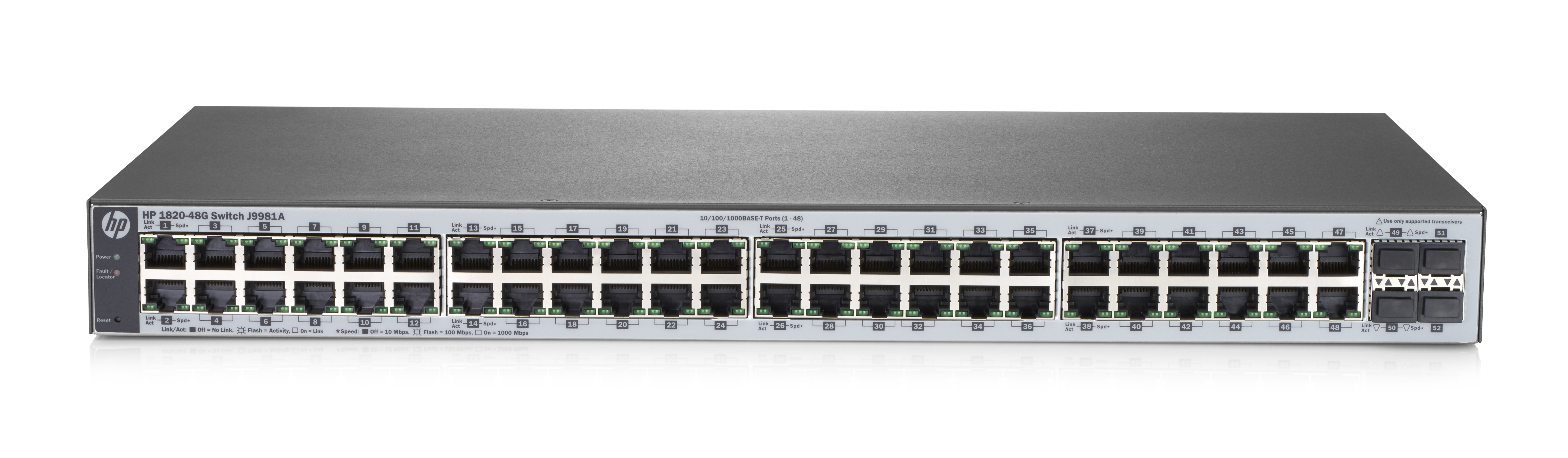 Hpe - An Aruba Of Cnc Switch(i5) Hpe 1820 48g Switch                 Hp 1820-48g Switch               In J9981a