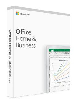 Microsoft Office Home And Business 2019 English Eurozone Medialess T5d-03216