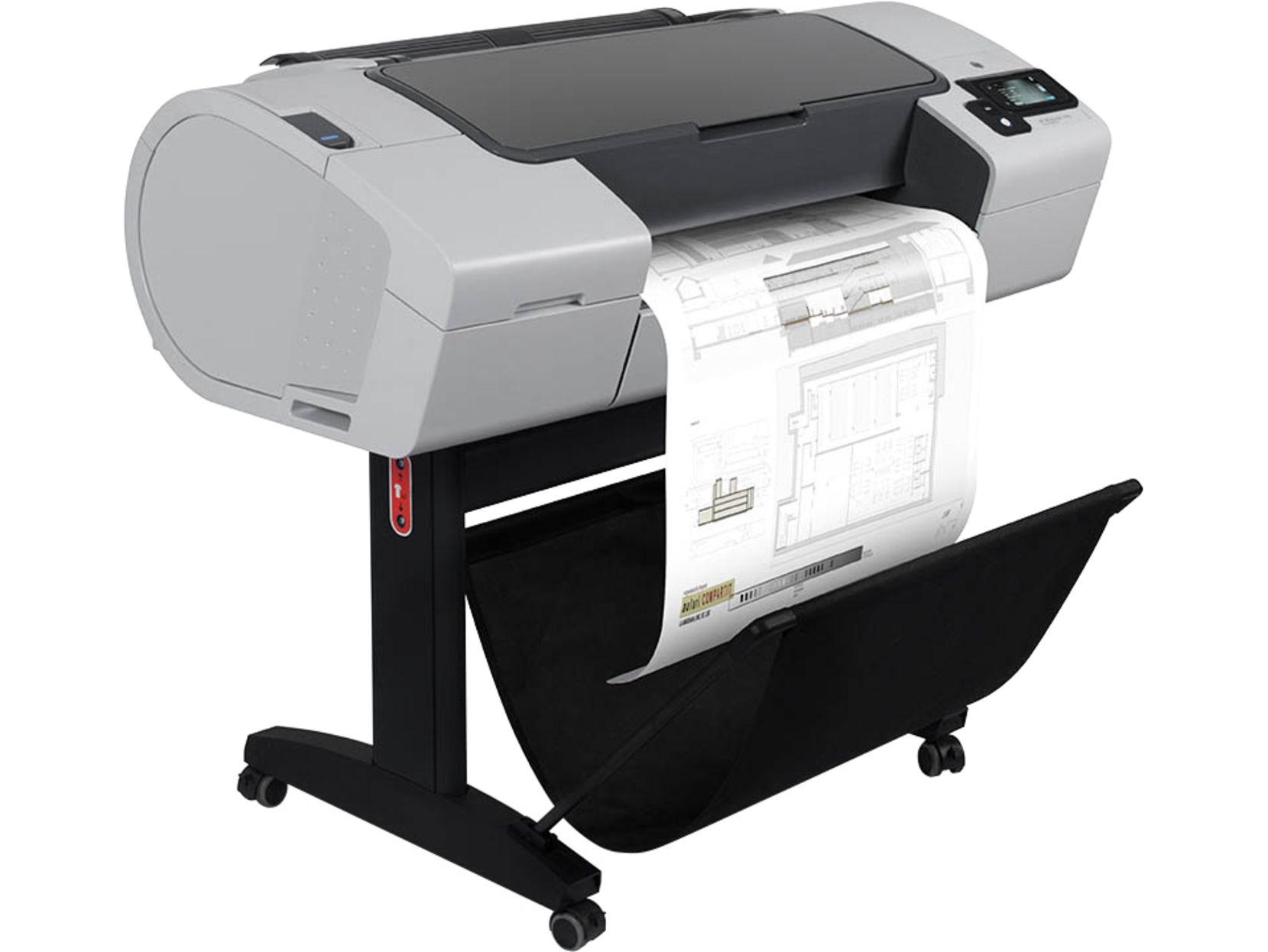 "CR648A HP Designjet T790PS 24"" plotter - Refurbished"