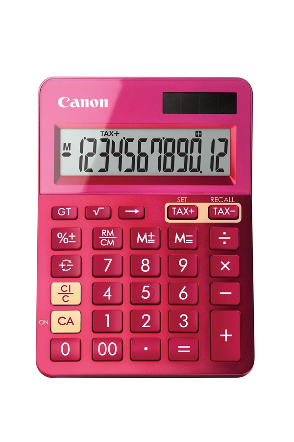 Canon - Calculator               Ls-123k-metallic Pink               Calculator                          9490b003aa