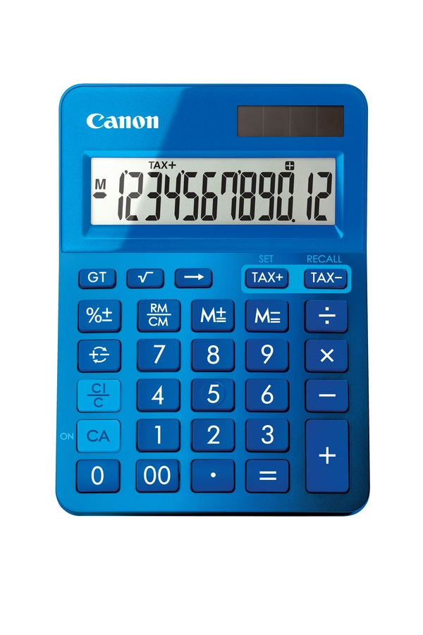 Canon - Calculator               Ls-123k-metallic Blue               Calculator                          9490b001aa