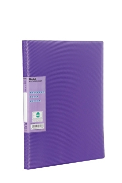 pentel Pentel Recycology Vivid A4 Display Book 30pocket Violet Pk10 Dcf343v - AD01