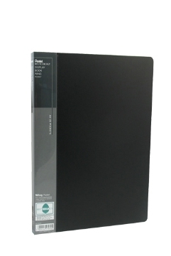 pentel Pentel Recycology A4 Display Book 20 Pockets Black Pk10 Dcf442a - AD01