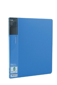 pentel Pentel Recycology A4 Display Book 20 Pockets Blue Pk10 Dcf442c - AD01