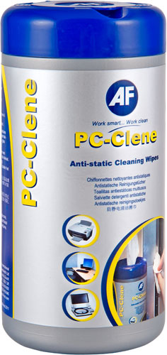 Afpcc100       Af Pc Clene Cleaning Wipes Tub Af Pc Clene 100 Wipes Per Tub                                - UF01