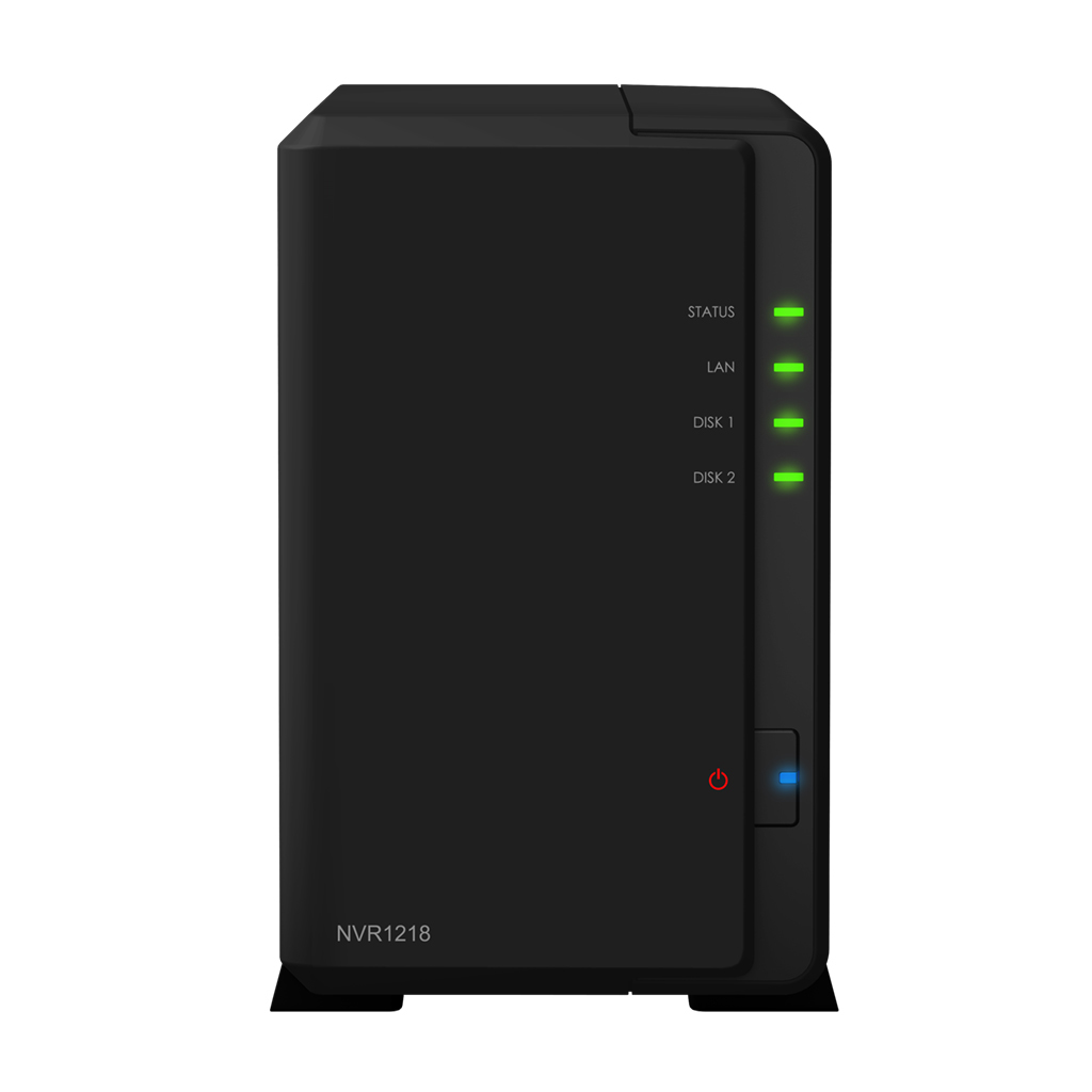 Synology Network Video Recorder NVR1218 - NVR - 12 Channels - Networked NVR1218 - C2000