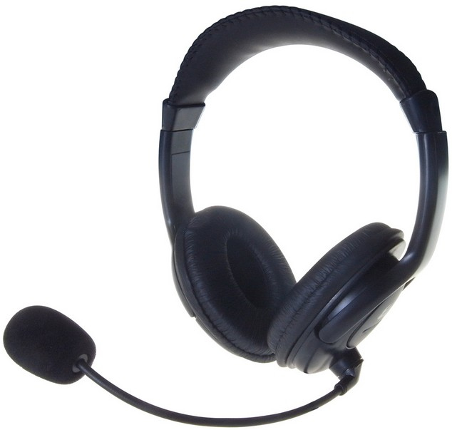 24-1512 computer gear Multimedia Stereo Headset Featuring A Bo - NA01
