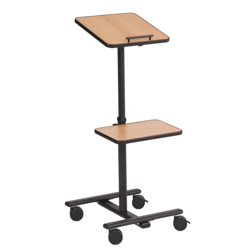 215723, Column 125 Projector Trolley -  This Mobile Multi-media Trolley Has A Height Adjustable Platform That Can Also Tilt For Optimum Projector Positioning. Platform Measures 380 X 420mm An - C2000