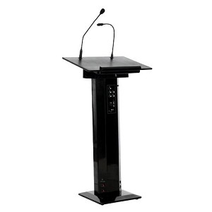 Sapphire Sound Lectern In Black Sslect2b - NA01