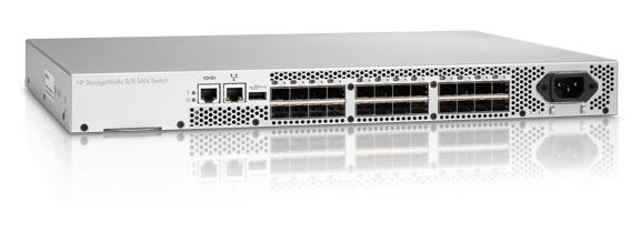 Hewlett Packard Enterprise 8/8 Base (0) E-port San Switch - Am866a - xep01