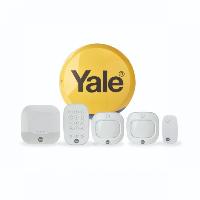 Yale Smart Living Sync Smart Home Alarm - Family Kit - Home Security System - Wireless, Wired - 868 MHz IA-320 - C2000