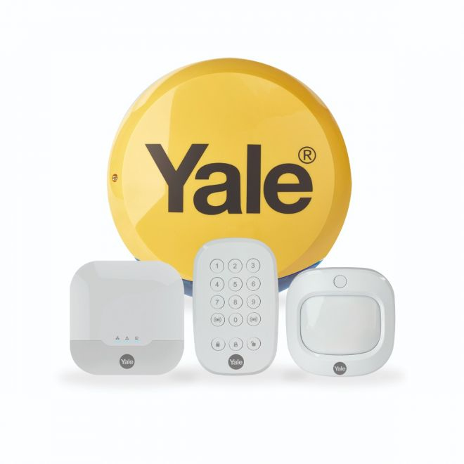 Yale Smart Living Sync Smart Home Alarm - Starter Kit - Home Security System - Wireless, Wired - 868 MHz IA-310 - C2000