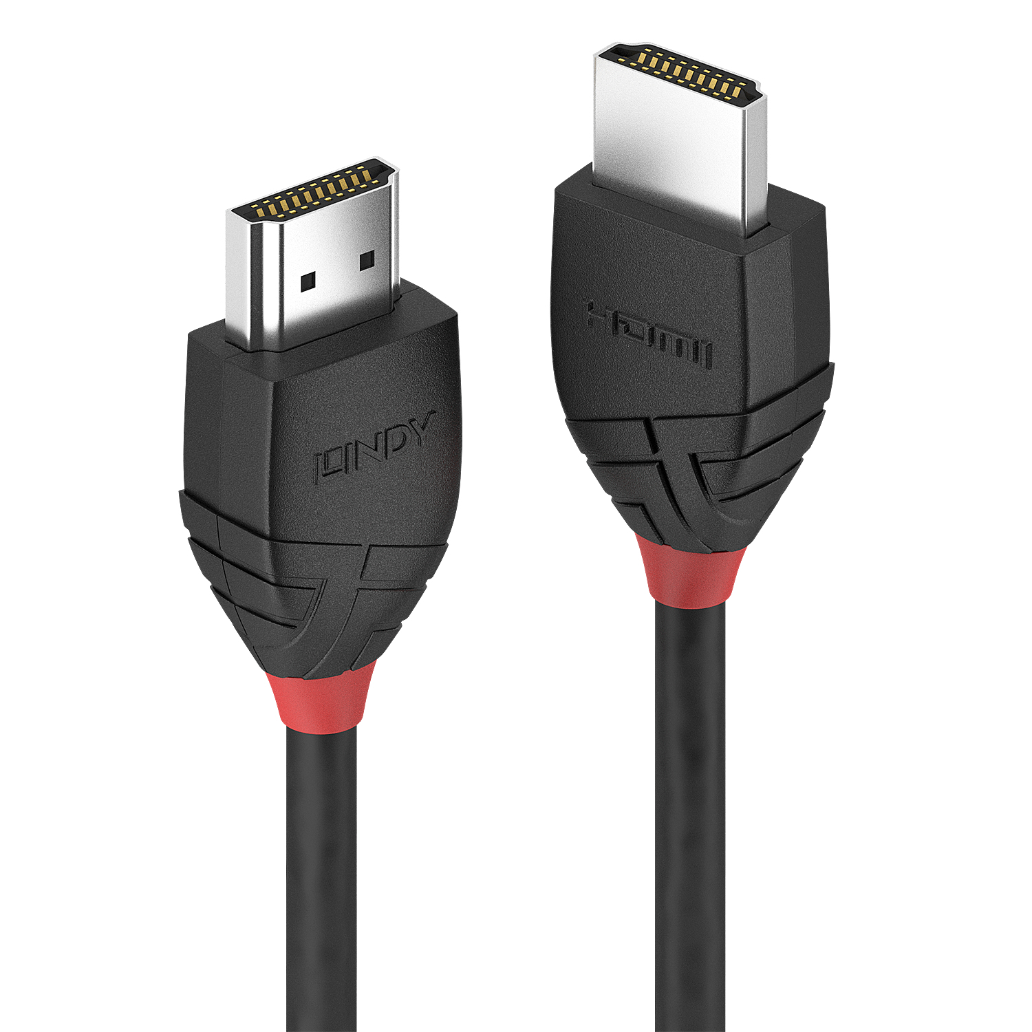 36470 lindy 0.5m High Speed Hdmi Cable, Black Line - NA01