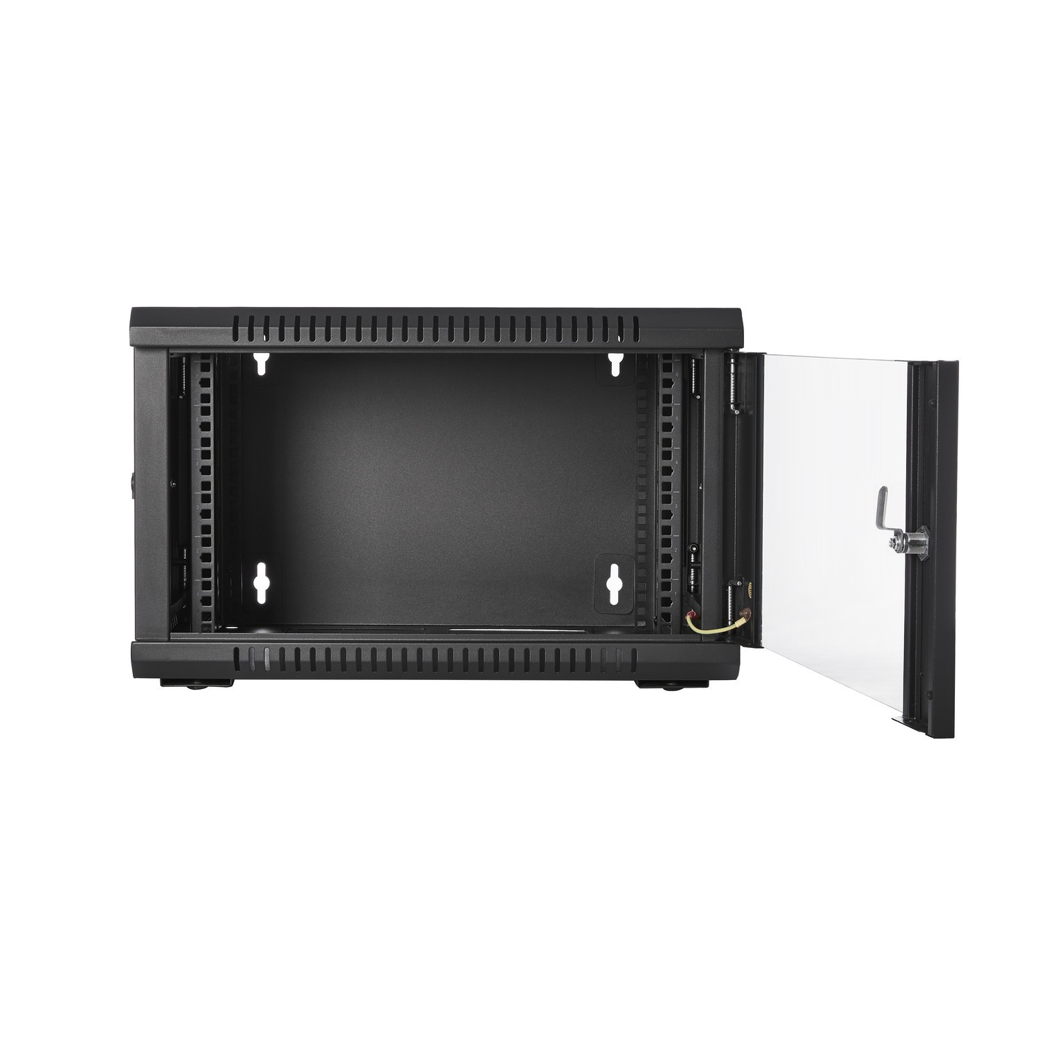 V7 - Racks                       6u Rack Wall Mount Enclosure        Locking Glass Door 450mm            Rmwc6ug-1e