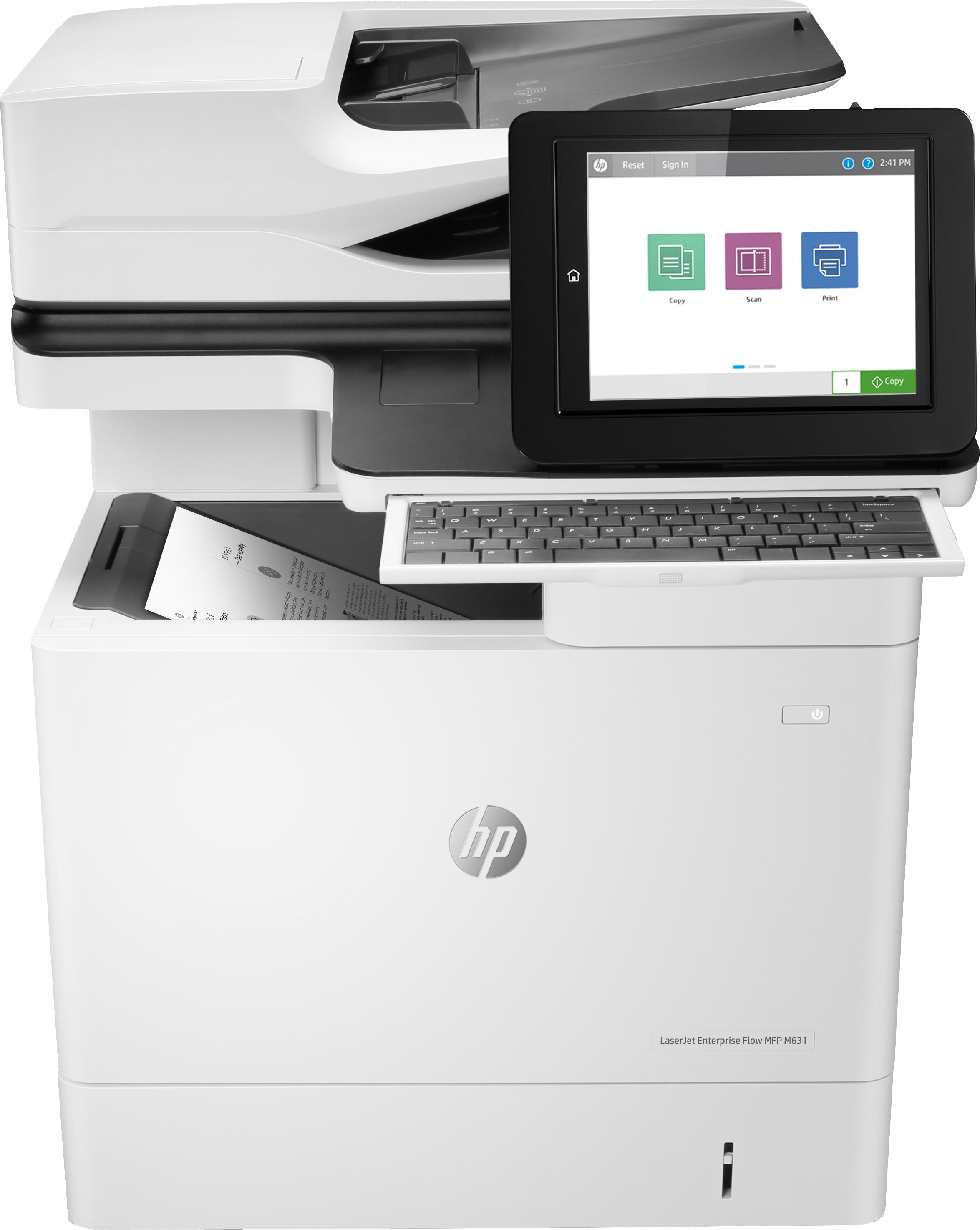 J8J64A HP LaserJet Enterprise Flow MFP M631h - Refurbished with 3 months RTB warranty