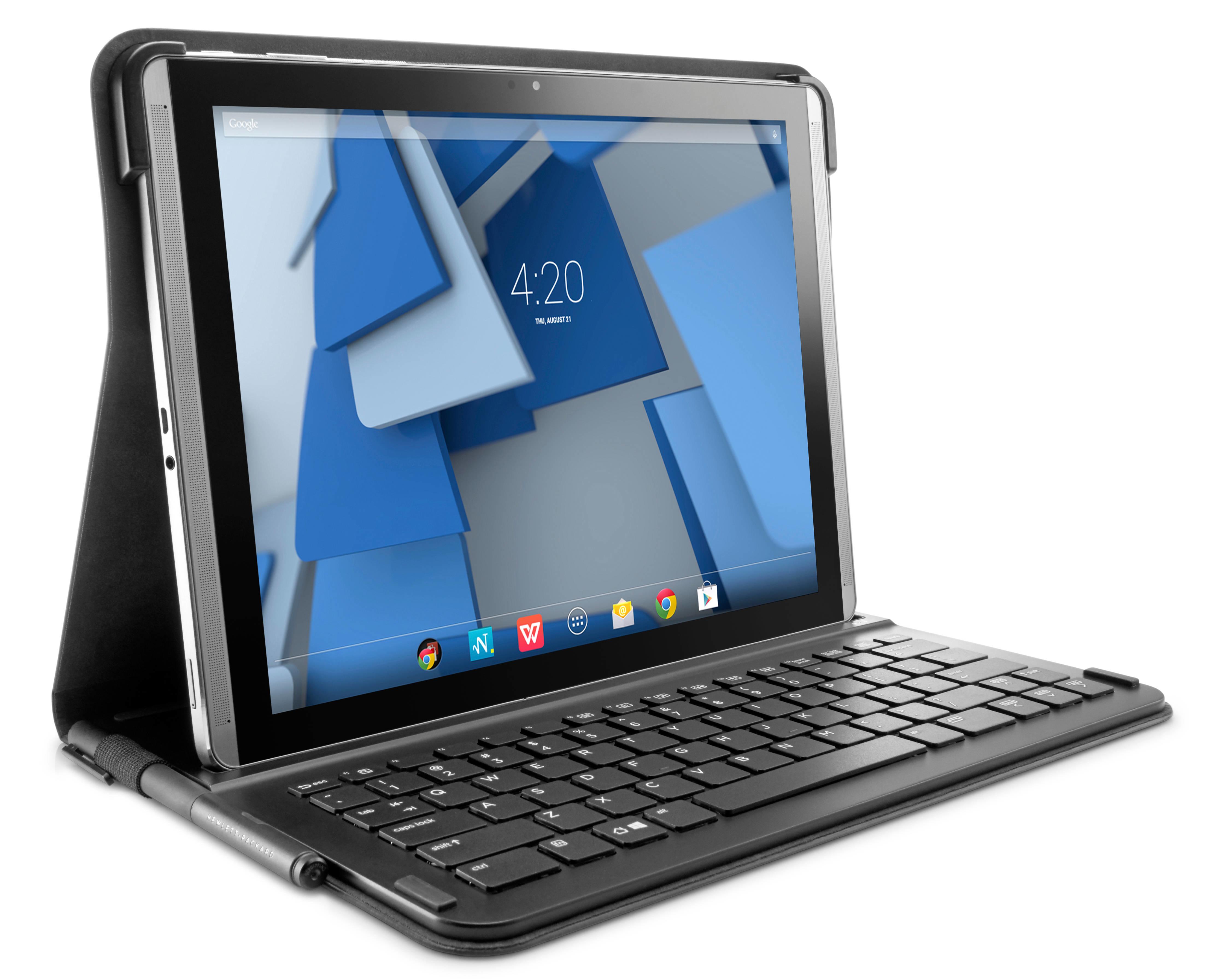 Hp Hp - Keyboard And Folio Case - Bluetooth - For Pro Slate 12 K4u66aa - xep01
