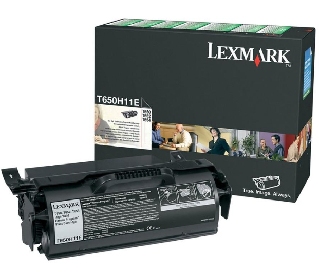 T650h11e lexmark T650/t652 High Yield Return Pro 25k - AD01