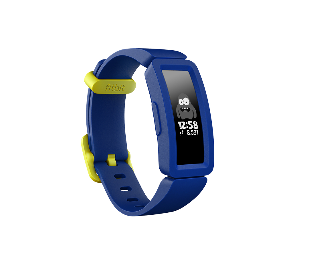Fitbit Ace 2 - Activity Tracker With Band - Silicone - Night Sky/neon Yellow - Band Size 117-168 Mm - Monochrome - Bluetooth - 20 G FB414BKBU - C2000