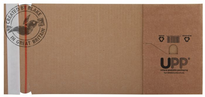 BWMA4 Blake Purely Packaging Manilla Peel And Seal Book Wrap 302X215X80mm Pack 25 Code Bwma4 3P- BWMA4