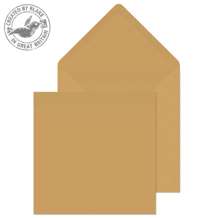 4255 Blake Purely Everyday Manilla Gummed Banker Invitation Square 155X155mm 90Gm2 Pack 500 Code 4255 3P- 4255