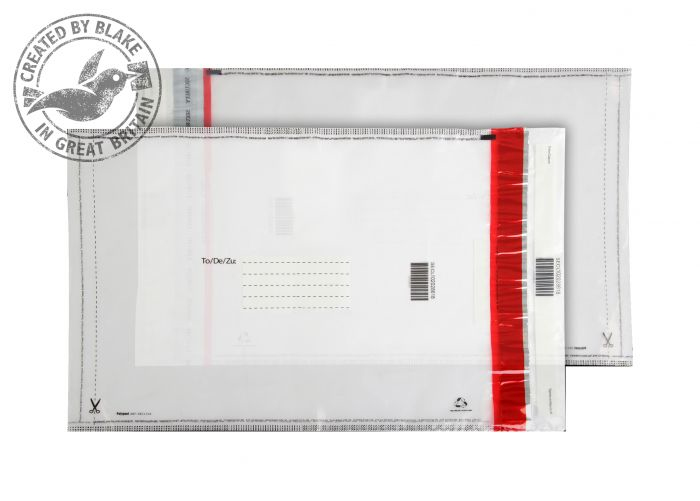 SECL102/20 Blake Purely Packaging Clear Polythene Pocket 430X330mm 70Mu Pack 20 Code Secl102/20 3P- SECL102/20