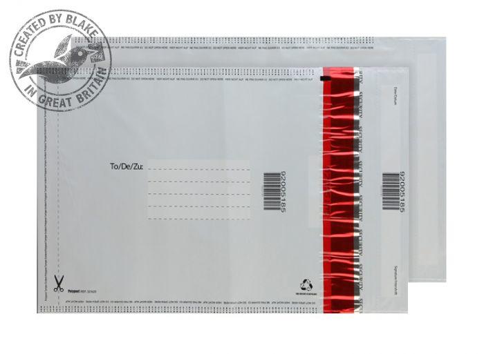 SE720/20 Blake Purely Packaging White Polythene Pocket 260X165mm 70Mu Pack 20 Code Se720/20 3P- SE720/20
