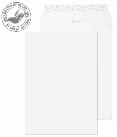 31891 Blake Premium Business Ice White Peel & Seal Pocket 324X229mm 120Gm2 Pack 250 Code 31891 3P- 31891