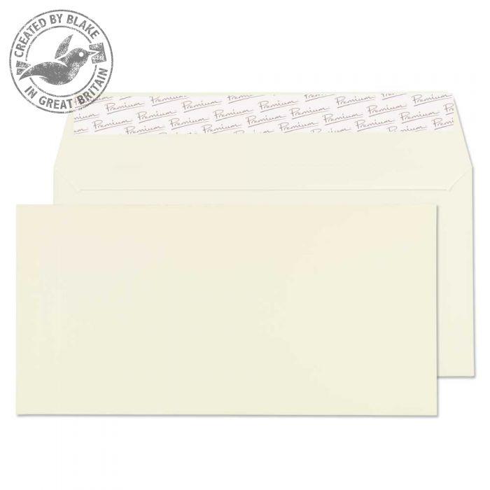 71882 Blake Premium Business Oyster Wove Peel & Seal Wallet 110X220mm 120Gm2 Pack 500 Code 71882 3P- 71882