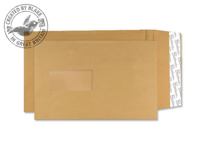 AG0020 Blake Premium Avant Garde Cream Manilla Window Peel & Seal Pocket 229X162 130G Pk250 Code Ag0020 3P- AG0020