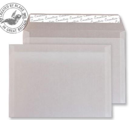 315 Blake Creative Senses Translucent White Peel & Seal Wallet 162X229mm 90Gm2 Pack 500 Code 315 3P- 315