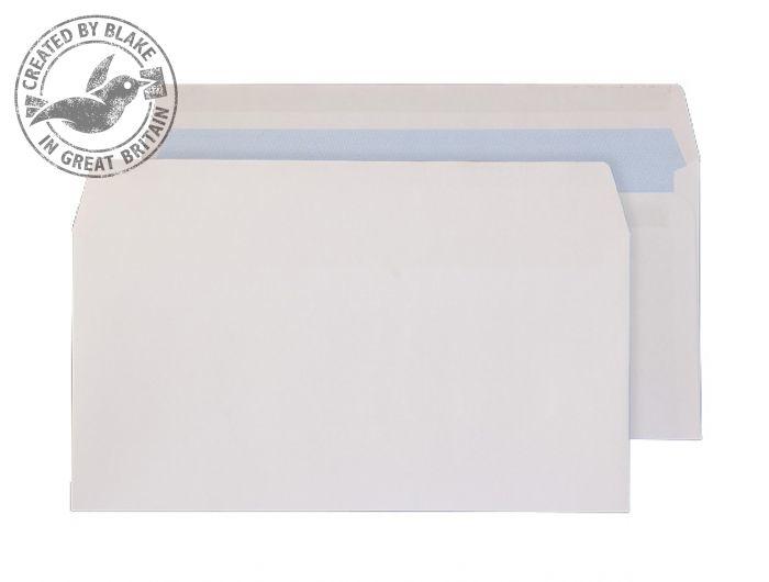 6622FU Blake Purely Everyday White Self Seal Wallet 110X220mm 100Gm2 Pack 500 Code 6622Fu 3P- 6622FU
