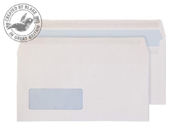 6633FU Blake Purely Everyday White Window Self Seal Wallet 110X220mm 100Gm2 Pack 500 Code 6633Fu 3P- 6633FU
