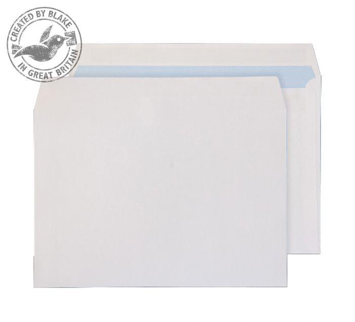 6644FU Blake Purely Everyday White Self Seal Wallet 162X229mm 100Gm2 Pack 500 Code 6644Fu 3P- 6644FU