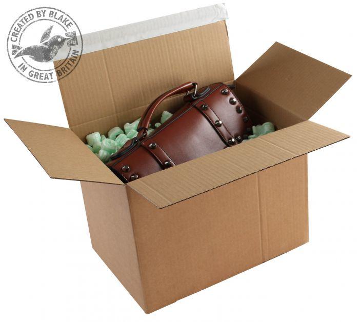 PEB50 Blake Purely Packaging Kraft Peel & Seal Postal Box 340X250X130mm 131 Pack 20 Code Peb50 3P- PEB50
