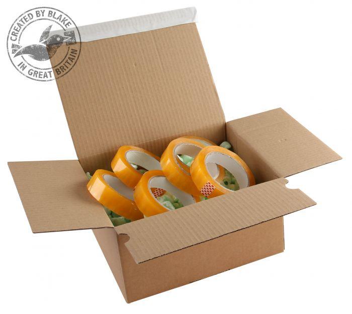 PEB33 Blake Purely Packaging Kraft Peel & Seal Postal Box 260X220X160mm 131 Pack 20 Code Peb33 3P- PEB33