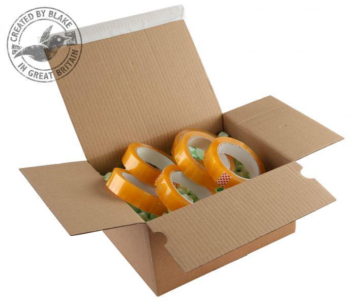 PEB41 Blake Purely Packaging Kraft Peel & Seal Postal Box 310X230X110mm 131 Pack 20 Code Peb41 3P- PEB41