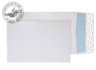 35215 Blake Premium Office Ultra White Wove Peel & Seal Gusset Pocket 229X162X25 120G Pk125 Code 35215 3P- 35215