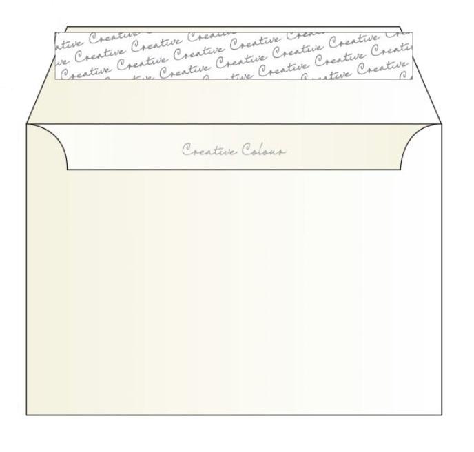 351 Blake Creative Colour Milk White Peel & Seal Wallet 162X229mm 120Gm2 Pack 500 Code 351 3P- 351