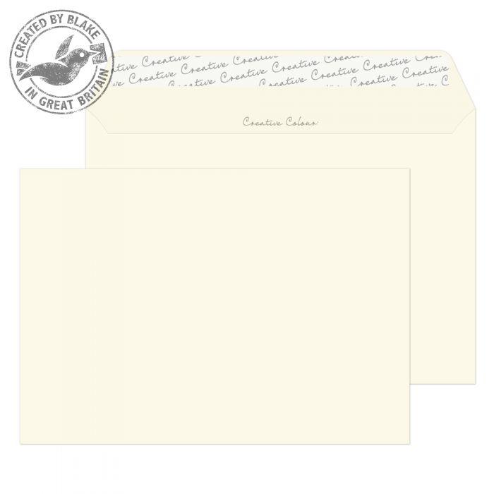 352 Blake Creative Colour Soft Ivory Peel & Seal Wallet 162X229mm 120Gm2 Pack 500 Code 352 3P- 352