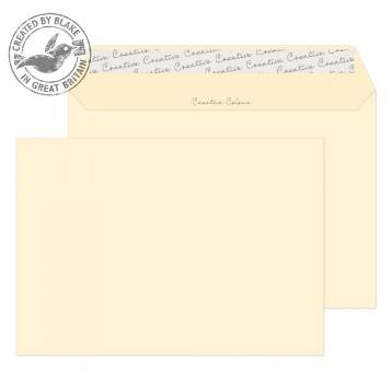 353 Blake Creative Colour Clotted Cream Peel & Seal Wallet 162X229mm 120Gm2 Pack 500 Code 353 3P- 353