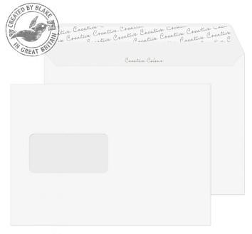 350W Blake Creative Colour Ice White Window Peel & Seal Wallet 162X229mm 120Gm2 Pack 500 Code 350W 3P- 350W